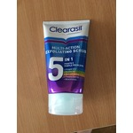 Clearasil 5in1 multi-action exfoliating scrub