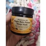 Night halo potent sleep mask