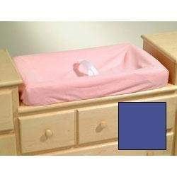 Contour Changing Pad Cover - Royal Blue Terry Cloth