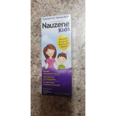 Nauzene Kids Liquid Nausea Remedy Natural Grape Flavor 4 Fl. Oz