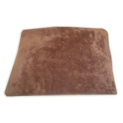 American Baby Company Heavenly Soft Chenille Flat Changing Table Cover - Chocolate