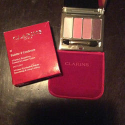Clarins 4 Color Eyeshadow Pallet