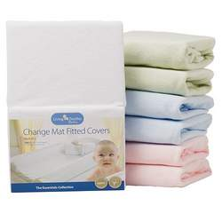 Living Textiles Baby 2-pk. Change Pad Covers - Powder Pink