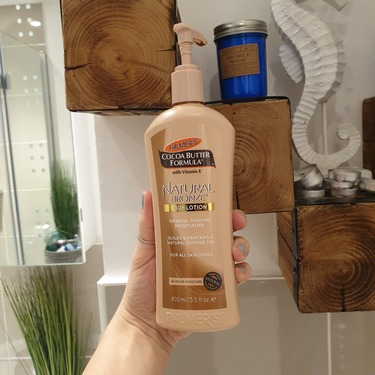palmers cocoa butter formula natural bronze body lotion