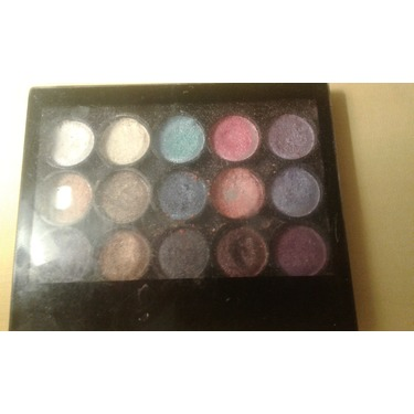 Colors eyeshadow palette 15 colors