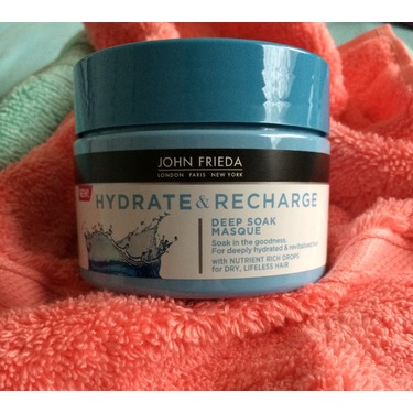 John Frieda Hydrate & Recharge Deep Soak Masque