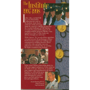 VMI Changing Lives Changing Times 1997-1998 VHS
