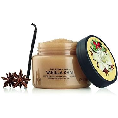 The Body Shop Vanilla Chai Exfoliating Sugar Body Scrub