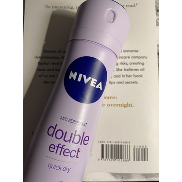 Nivea double effect quick dry