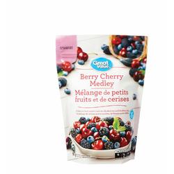 Great Value Frozen Berry Cherry Medley