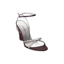 Dolce & Gabbana Satin Wedge Sandals