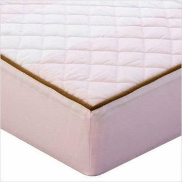 Metro Pink/Chocolate Chg Pad Cover