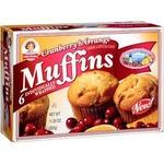 little debbie cranberry and orange muffin