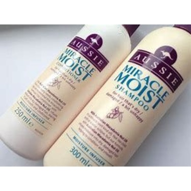 aussie miracle moist shampoo