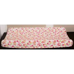 Mosaic Garden Velour Changing Pad Cover