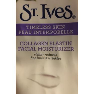 St. Ives Fresh Skin Collagen Elastin Facial Moisturizer