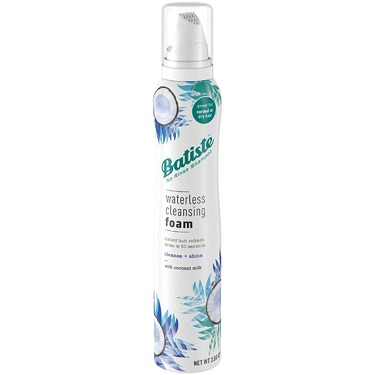 Batiste Waterless Cleansing Foam with Coconut Milk