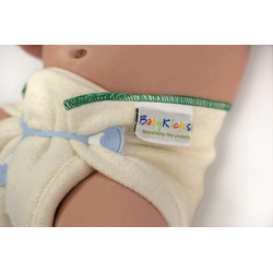 "BabyKicks Prefold Diaper 3-Pack, Small (newborn 11.75"" X 16"")"