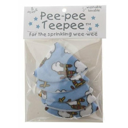 The Peepee Teepee for the Sprinkling WeeWee: Airplanes in Cellophane Bag