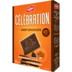 Leclerc Celebration Dark Chocolate 45% Cocoa Cookies