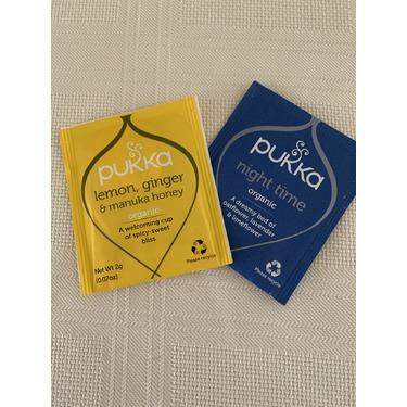 Pukka Tea - Organic Lemon, Ginger and Manuka Honey