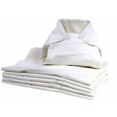 Kushies Washable Pre-folded Diapers - 6 Pack - White