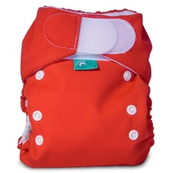 Bummis Tots Bots Easy Fit Pocket Diaper, Pomegranate, 8-35 Pounds
