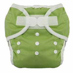Thirsties Duo Diaper, Meadow, Size One (6-18 lbs)