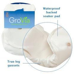 GroVia Organic Cotton Soaker Pad 2 Pack