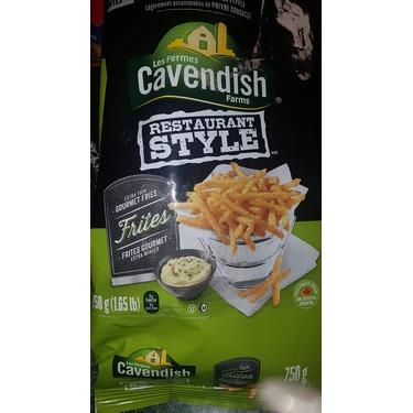 Cavendish extra thin fries
