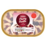 Tesco cherry vanilla icecream