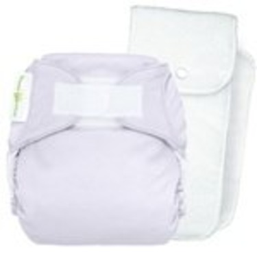 bumGenius Stay-Dry One-Size Cloth Diaper 4.0 (Hook/Loop, Blossom)