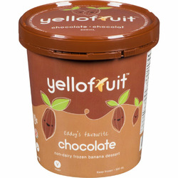 Yellofruit Chocolate Non-Dairy Frozen Banana Dessert