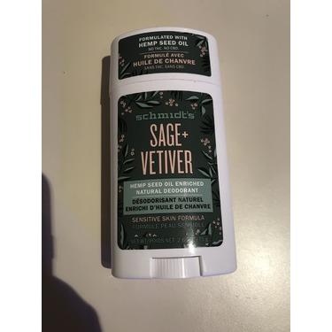 Schmidt's Sage + Vetiver Natural Deodorant