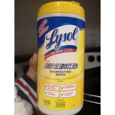Lysol Advanced Disinfecting Wipes