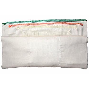 Dandelion Certified Organic DSQ Prefold Diapers - Dozen Infant