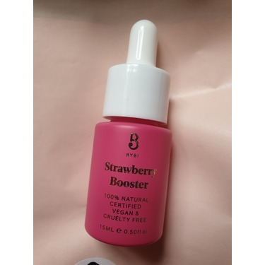 Bybi strawberry booster oil