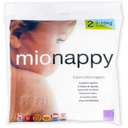 Bambino Mio Nappy Cloth Diaper - White - Size 2