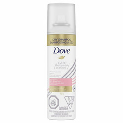 Dove dry shampoo spray