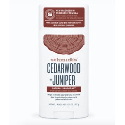 Schmidt's Cedarwood + Juniper Natural Deodorant