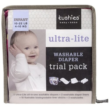 Kushies - Reusable Ultra-lite Diapers Trial Pack