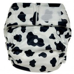 Happy Heiny's One Size with Snaps Cloth Diapers (Cow Hide)