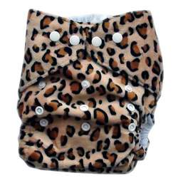 GoGreen Pocket Diaper (Leopard)