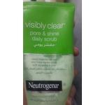 Neutrogena visibly clear pore and shine daily scrub