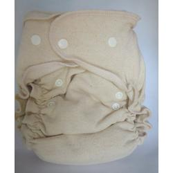 Tiny Tush One Size Hemp Fitted Diaper