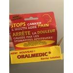 Oralmedic barrier solution