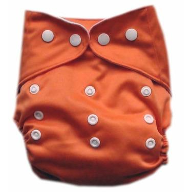GoGreen Pocket Diaper (Tangerine)