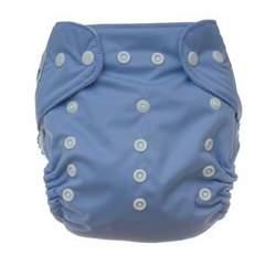 Periwinkle Tiny Tush Elite Snap diaper (single)