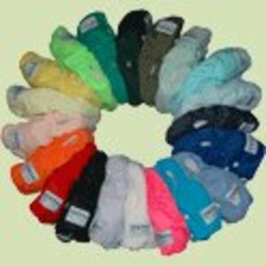 12 Pack FuzziBunz Cloth Diapers-BOY Colors MEDIUM