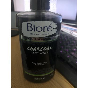 Biore charcoal face wash